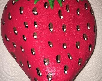 Large Strawberry Rock