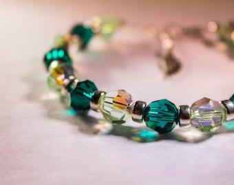 Archangel Raphael Sacred Energy Infused Swarovski Crystal Healing Bracelet by Crystal Vibrations Jewelry