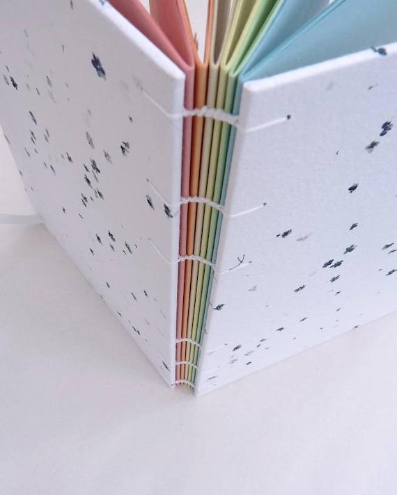 Regenbogen-Notebook Holunderblüten Zeitschrift A5 farbige