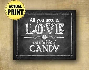 Dessert Candy Buffet Sign Custom DIY Printable