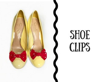 Bow Shoe Clips - 2 PACK