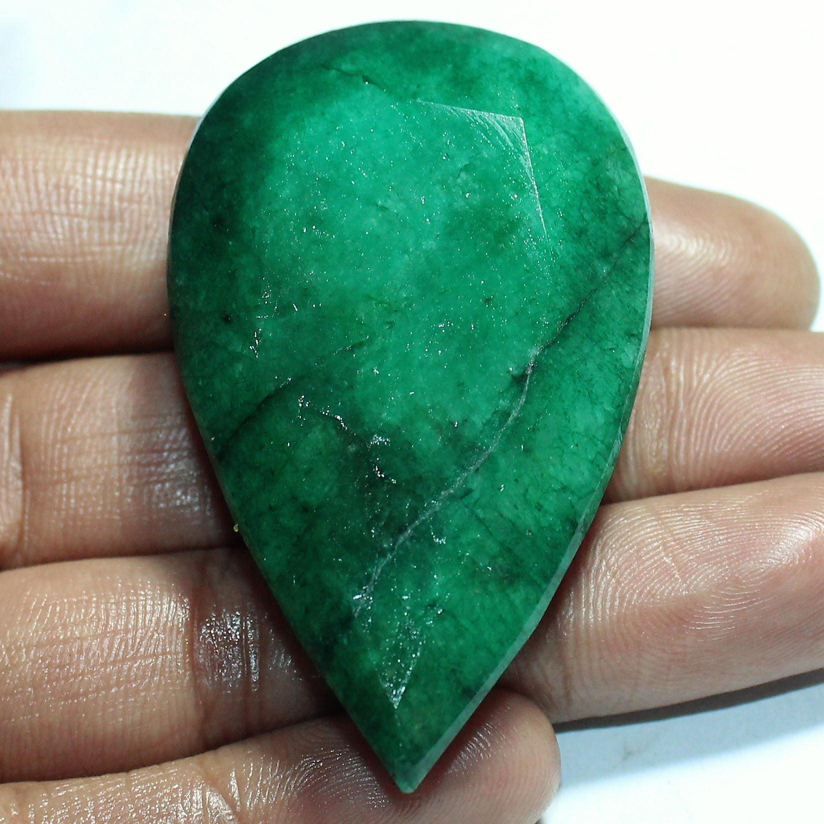 how identification to tips stone fake an is or if emerald real tell