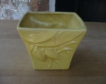 McCoy Yellow Vase
