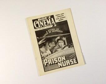 1938 Boy's Cinema Screen Facts reprint (1970's)