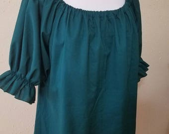 Hunter Green Chemise XL