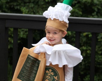 Halloween costume Frappuccino Coffee Kid's Costume