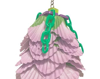 Paper Roses chewable bird toy pick your color