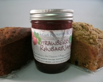 Jam.Jelly. Bread Gift Pack. Choose 2 jams or jellies and one of your favorite sweet breads FREE SHIPPING