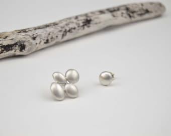 Drop Earrings/Mismatched earrings/Silver earrings/Sterling Silver Earrings/Unique