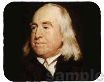 Mouse Pad; Jeremy Bentham