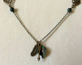In the Trees Necklace