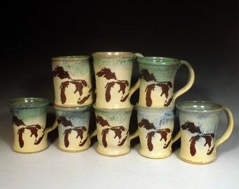 Great Lake beer mug 24oz- made to order