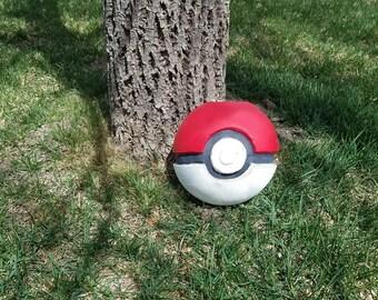 Pokemon inspired Pokeball Candle