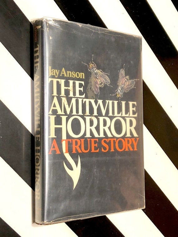 The Amityville Horror by Jay Anson (1977) hardcover book