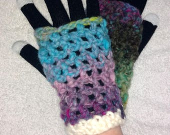 Free Fingers Mitts 2.0 - rainbow!!