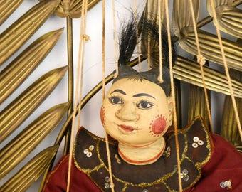 Marionette Burmese - the jester