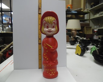 Wendy the witch soakie, vintage soakie, old soakie, soap container, childs soap container, cartoon soakie