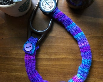 Knotted stethoscope cover 19""