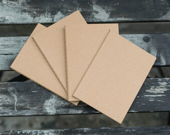 ADD-ONS - Pack of 4 Passport Size Lined Notebook Refills (Midori Traveler's Notebook)