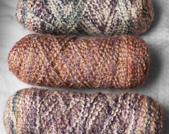 Homespun Lion Brand Multicolors 16 oz Yarn no labels acrylic polyester bulky soft knitting crochet
