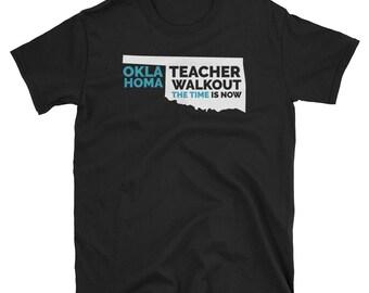 Oklahoma Teacher Protest TShirt For Men, Women, Kids