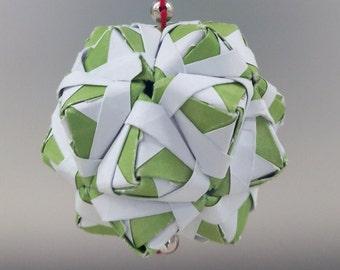 Green Kusudama Ornament