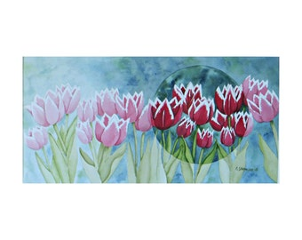 Focus (Contemporary Tulips) - Fine Art Giclee