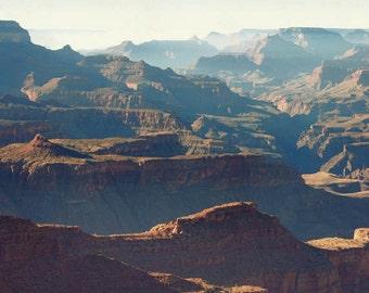 Clearance sale - Southwest photograph, Grand Canyon, Western decor, Arizona, landscape photography, fine art, nature print - South Rim