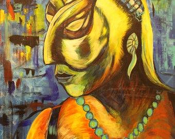 Mayan Goddess, Ixchel