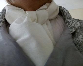 Regency inspired men's cravat