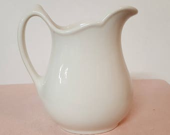 Shenango China Restaurant Ware Creamer White