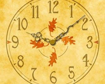 AC08 Oak Leaf - Clock Faces, Clock Dials