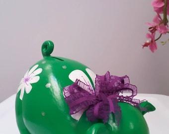 Personalized piggy bank/girls piggy bank/custom piggy bank