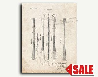 Patent Art - Necktie Patent Wall Art Print