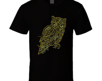 Electrical Owl T Shirt