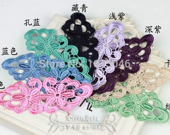 Oval Heavy Lace Applique