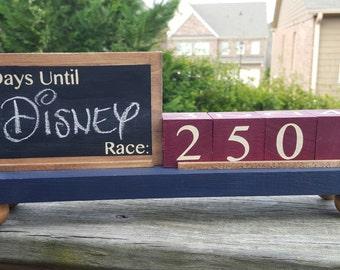 Race Countdown Calendar