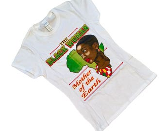 Black Woman Mother Of The Earth Shirt - Queen Shirt