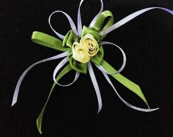 Flower Brooch, Flower Pin, Scarf Pin, Lapel Pin, Hat Brooch, Wedding Brooch, Guest Brooch, Cloth Brooch, Fashion, Handmade Brooch, Gift