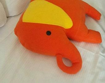 Custom Elephant Pillow