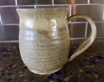 Pottery handmade coffee tea mug