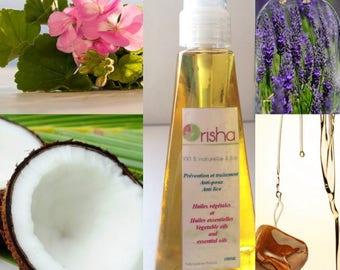 Orisha natural and organic lice prevention and treatment
