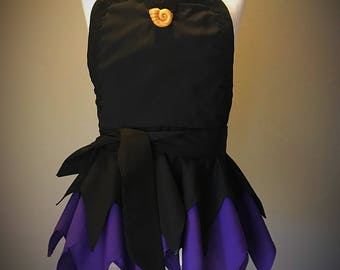 Sea Witch Ursula Inspired Apron