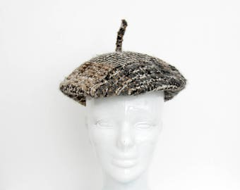 Vintage Beret Hat // Newsboy Men's Hat