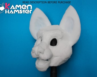 NEW Fursuit Canine / FOX / PUPPY Head Base Foam - Commission