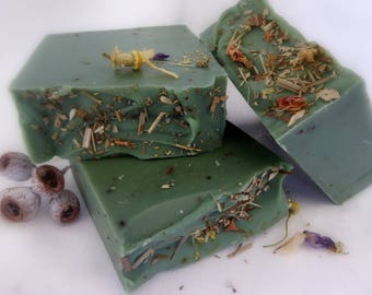 Eucalypt Forest handmade soap, natural soap, vegan, artisan soap, handcrafted soap, traditional soap,Australia,essential oil blend, vegan