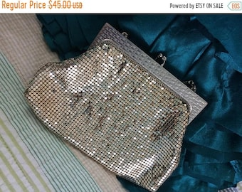 Final Whiting and Davis Silver Mesh Purse