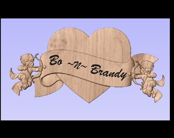 Custom Made Valentines Day Gifts 3D Wood Carving