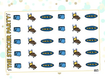 IKEA Planner Stickers