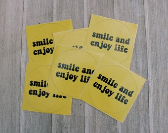 Enjoy Life Sticker